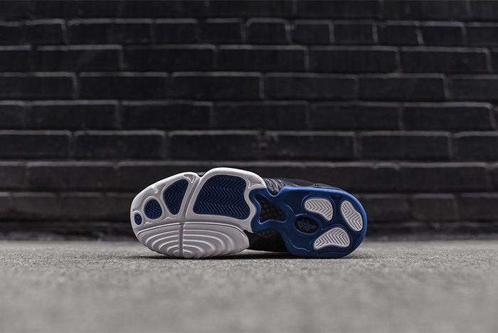 Nike Air Penny Iv White Black Atlantic Blue 5