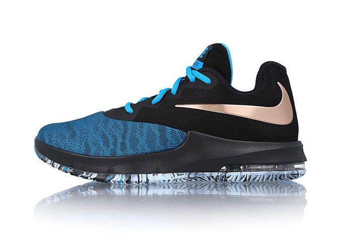 Nike Air Max Infuriate III Low Hits Hard in a Black and Blue ...