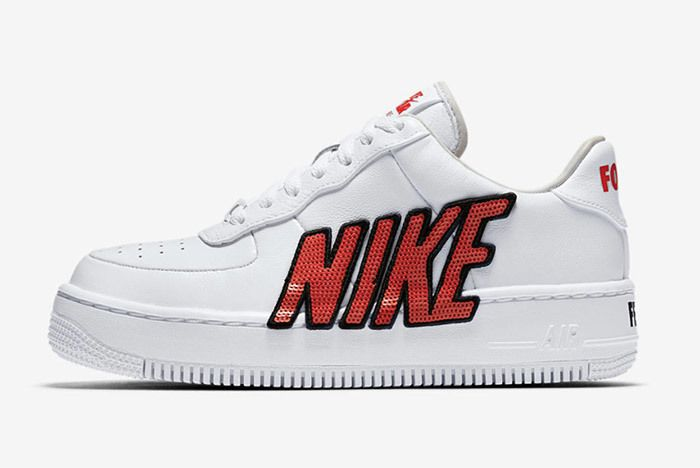 Nike Air Force 1 Upstep Sequin 5