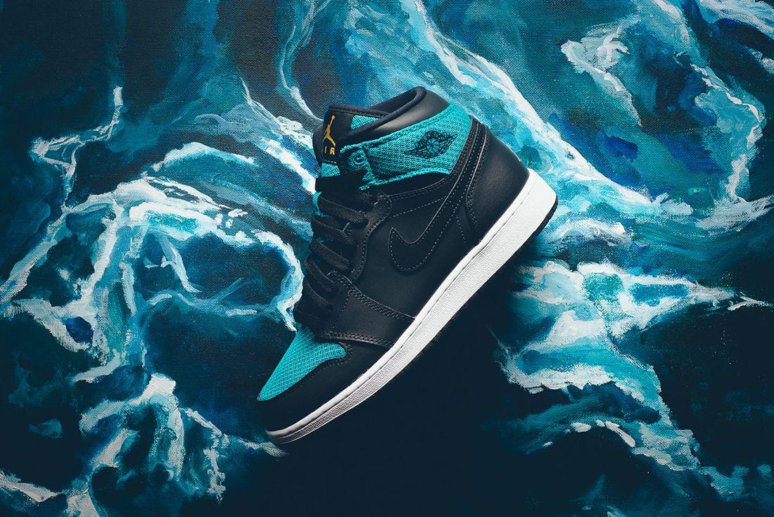 Air Jordan 1 High Gg Rio Teal2