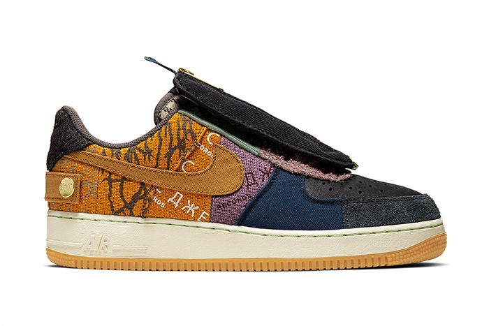 Travis Scott Nike Air Force 1 Low Cactus Jack Cn2405 900 Release Date Lateral