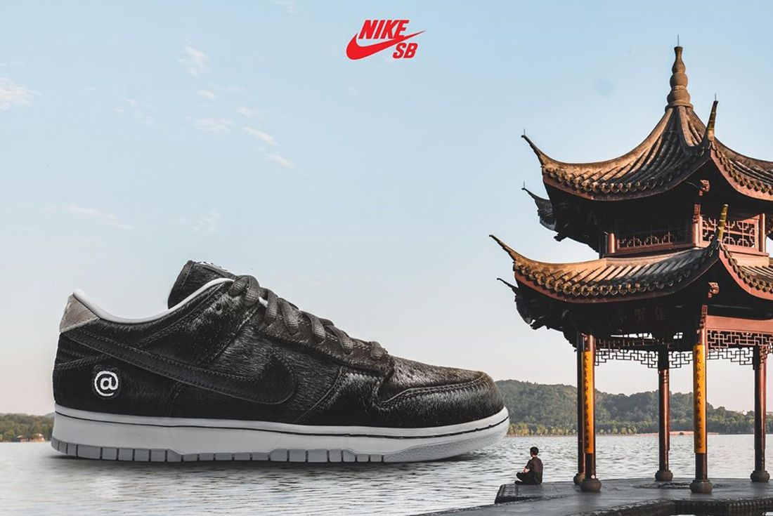 Medicom Nike SB Dunk Low Bearbrick