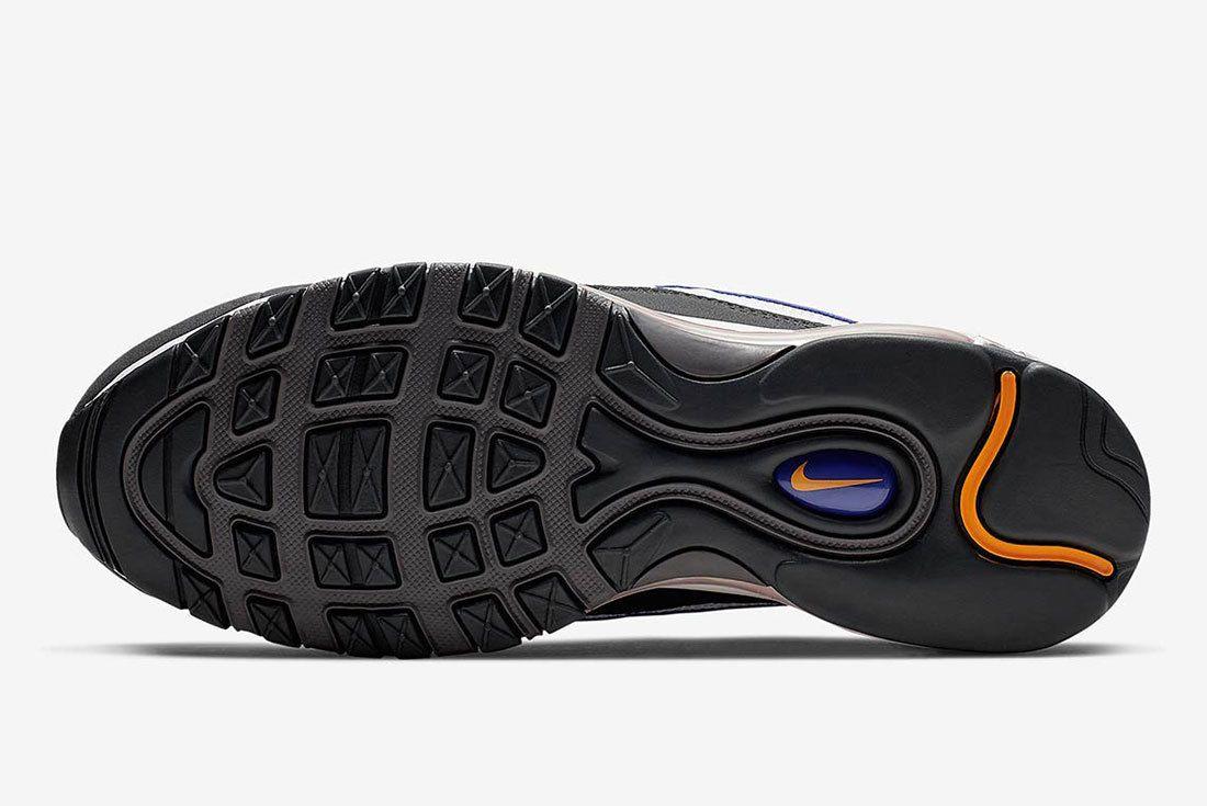 Nike Air Max 98 Grey Blue Orange 640744 012 3