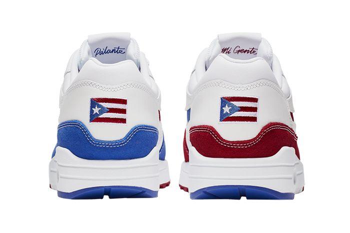 Nike Air Max 1 Premium Puerto Rico 2019 Cj1621 100 Release Date Heel