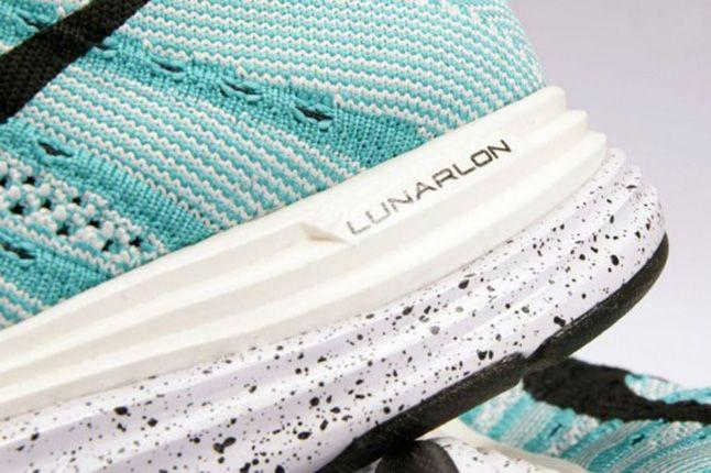 Nike Flyknit Lunar 1 Sport Turquoise Heel 1