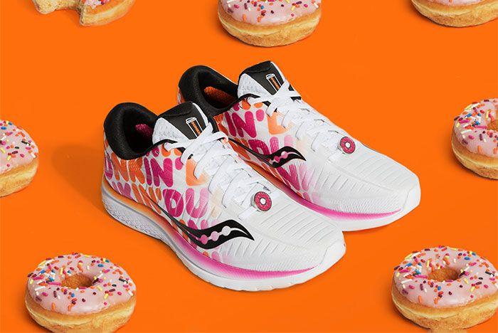 Dunkin Donuts Saucony Kinvara Paior