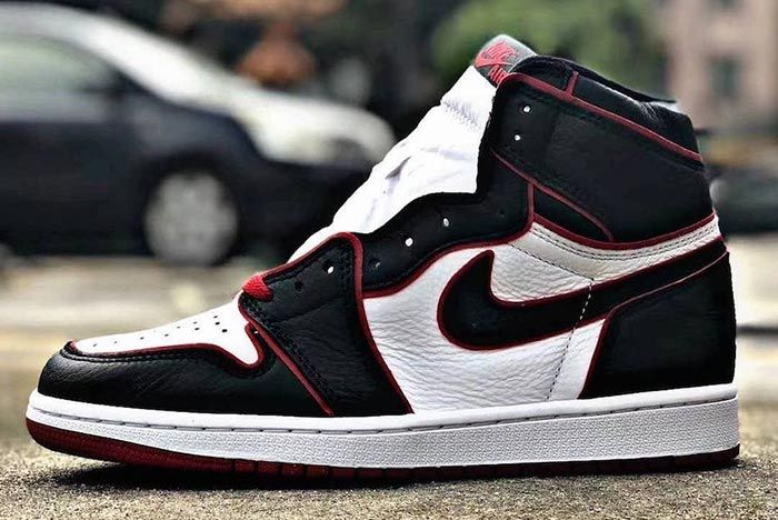 Air Jordan 1 Who Said Man Was Not Meant To Fly Left Side Shot