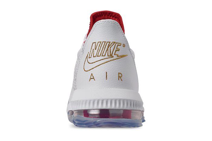 Nike Lebron 16 Low Draft Night Ci2668 100 Release Date Heel