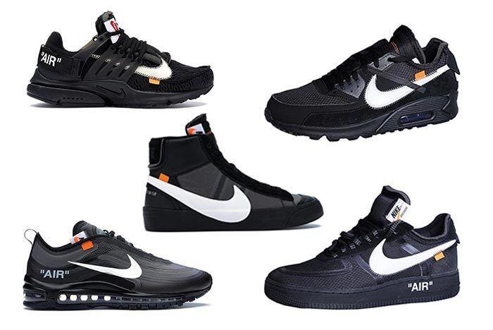 Virgil Abloh Black Nike Collection 1