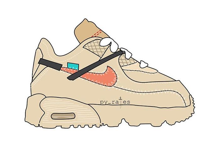 Off White X Nike Air Max 90 Toddlers Td 2