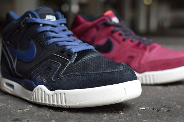 Nike Air Tech Challenge Ii Burgundy Navy Releases 5