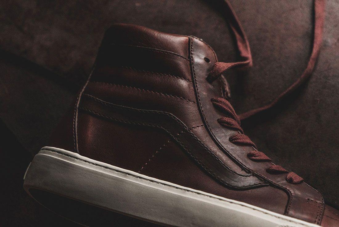 Horween Leather X Vans Vault Collection