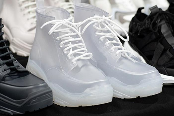 Dior Ss20 Sneakers Boots Front Angle Shot