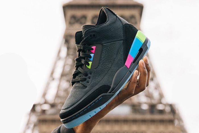 Air Jordan 3 Quai 54 At9195 001 Sneaker Freaker