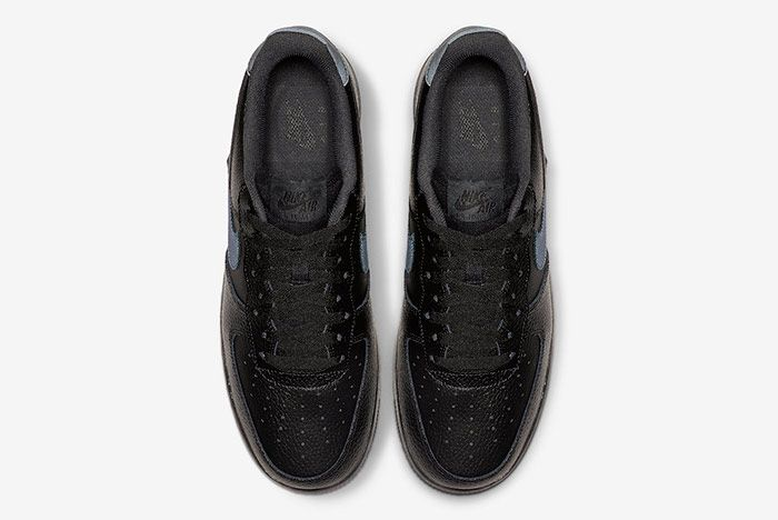 Nike Air Force 1 Low Black Anthracite Top