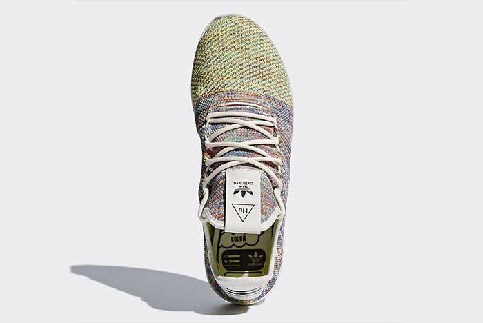 Pharrell Williams Adidas Tennis Hu Multicolour Rainbow Small