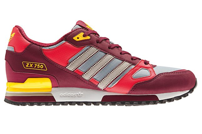 Adidas Zx750 Red Side 1