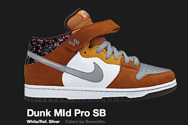 Nike Dunk Mld Pro Sb Ref Silver 2008 1