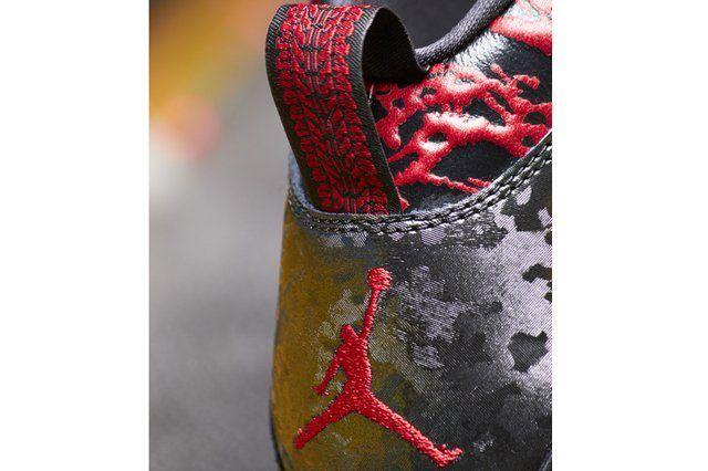Nike Air Jordan 10 Doernbecher Heel