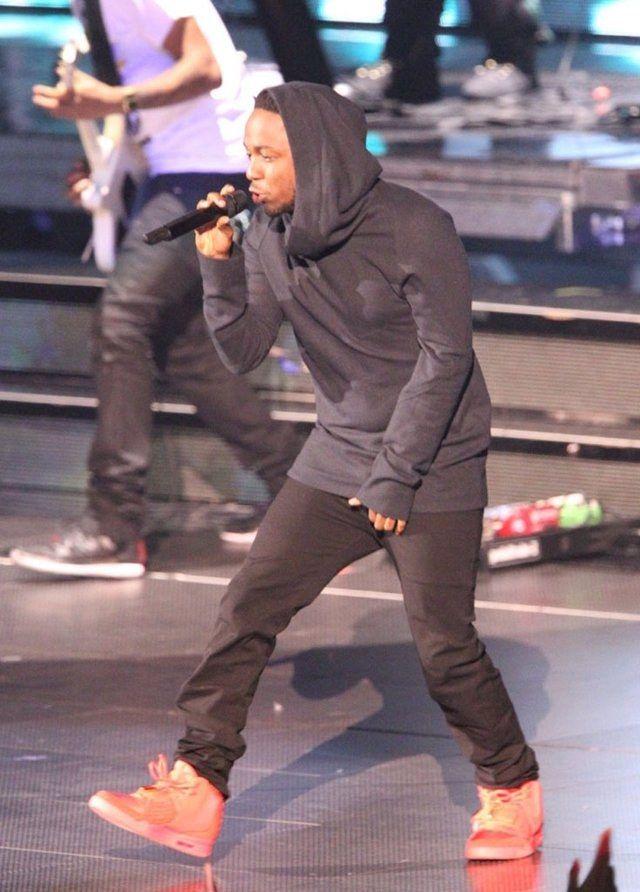 Kendrick Lamar Nike Air Yeezy 2 Red October 07