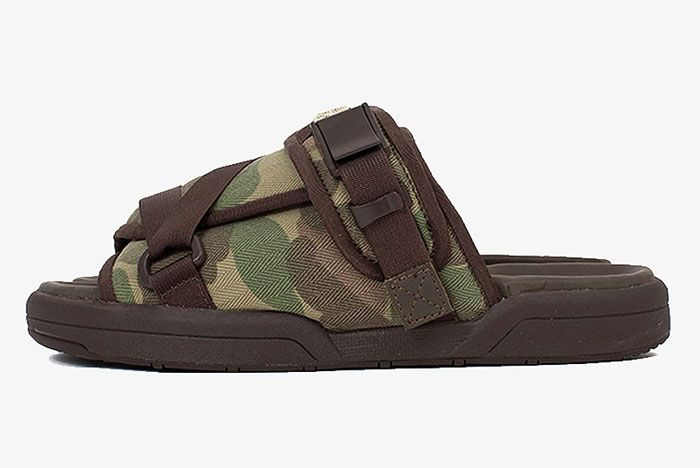 Visvim Christo Sandal Left Camo