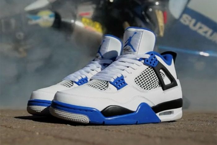 Air Jordan 4 Motorsport 2017 Retro 1