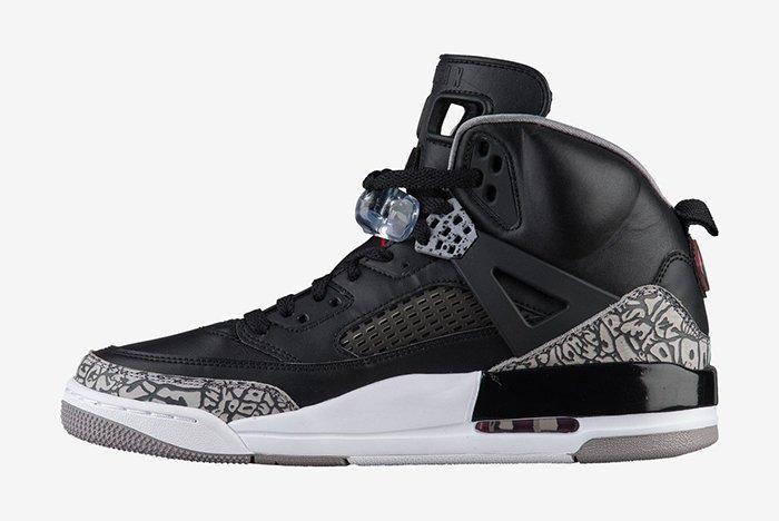 Jordan Spizike Black Cement