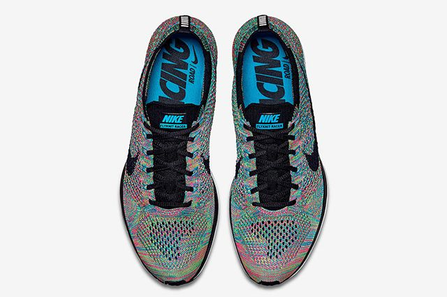 Nike Flyknit Racer Multi Colour4