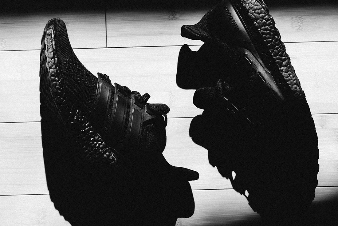 Van Styles Adidas Ultra Boost Triple Black 5