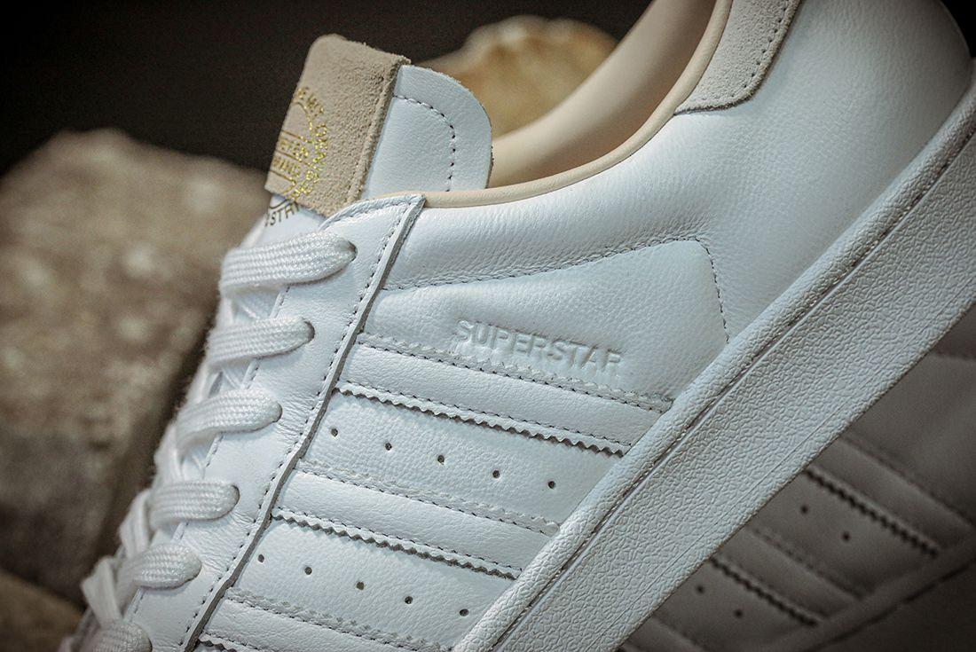 Adidas Superstar Home Of Classics Stripes Detail