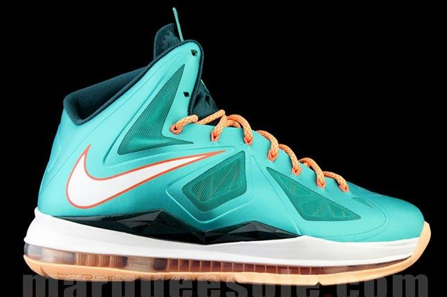 Nike Lebron X Miami Dolphins 1