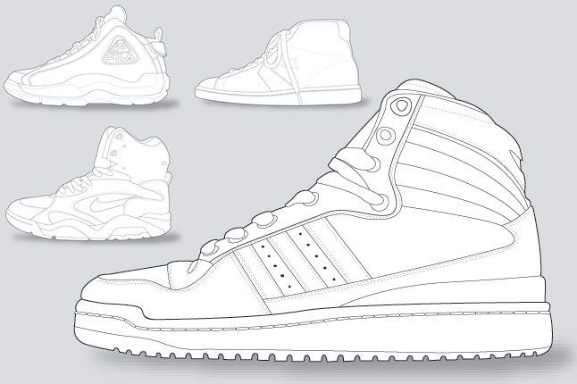 Sneaker Colouring Book 7 1