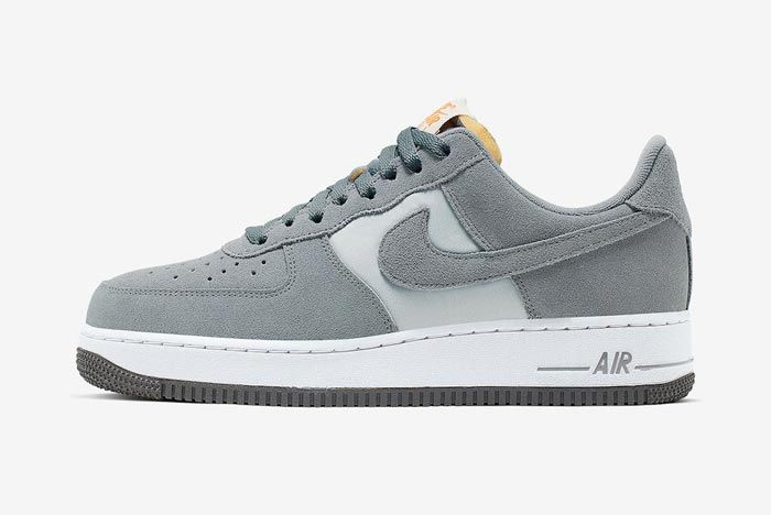 Nike Air Force 1 Cool Grey Lateral