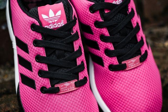 Adidas Zx Flux Kids Bold Pink 2