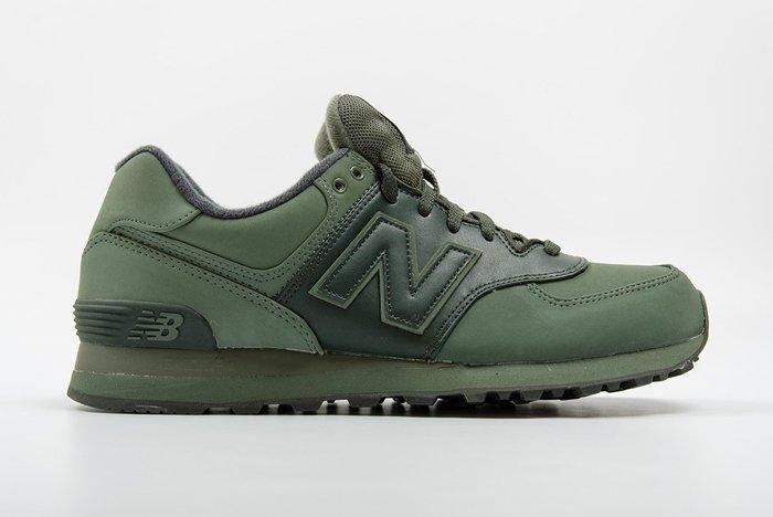 New Balance 574 (Military Green) - Sneaker Freaker