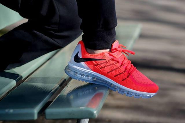 Nike Air Max 2015 Bright Crimson 1