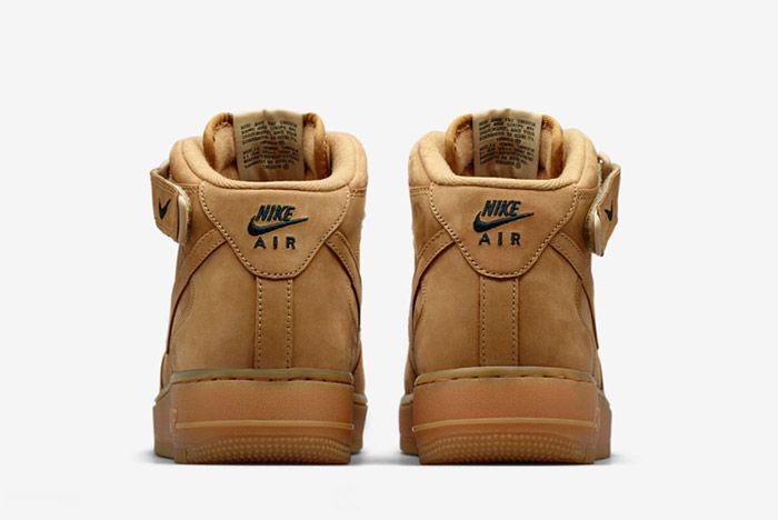 Nike Air Force 1 Flax Mid 3