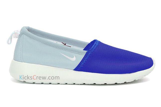 Nike Roshe Run Slip Hyper Blue Ice Blue 1