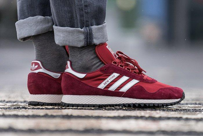 Adidas New York Collegiate Burgundy 4