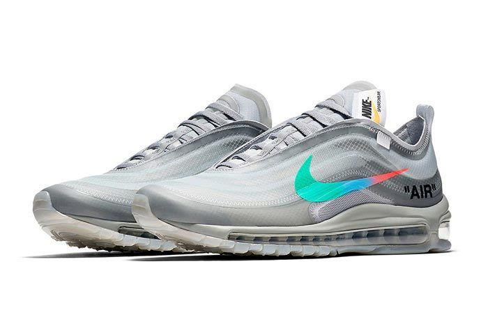 Off White X Nike Air Max 97 Menta 1