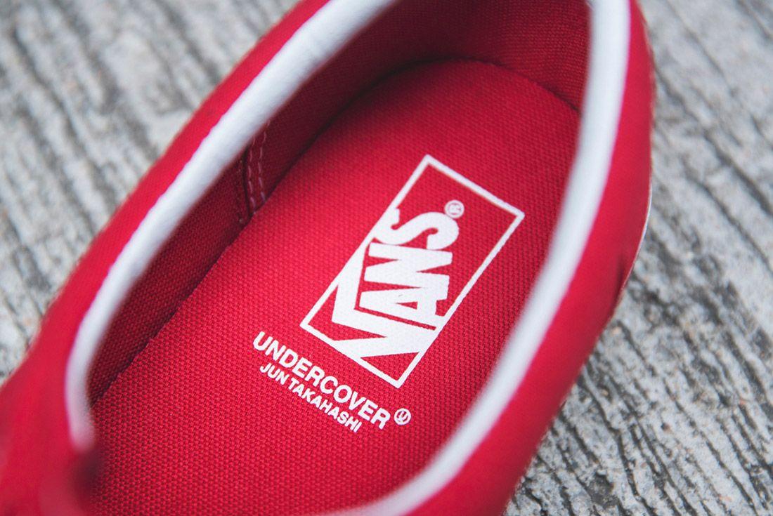 Vans Undercover Era Red 1