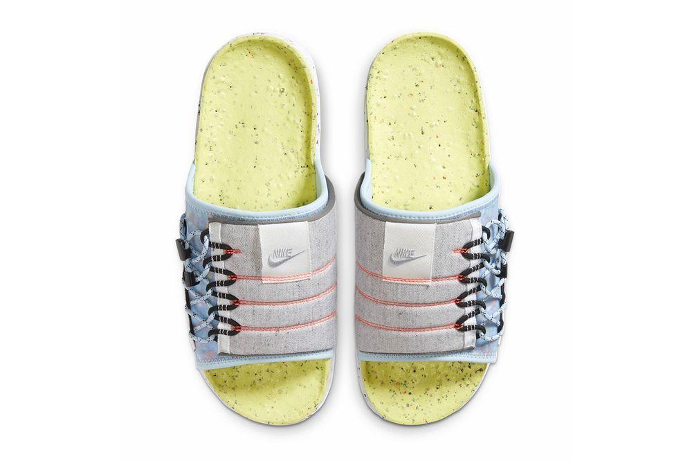 Nike Asuna Slide Light Lemon Twist Top