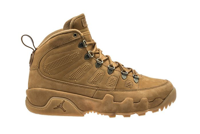 Air Jordan 9 Boot Wheat Black 1