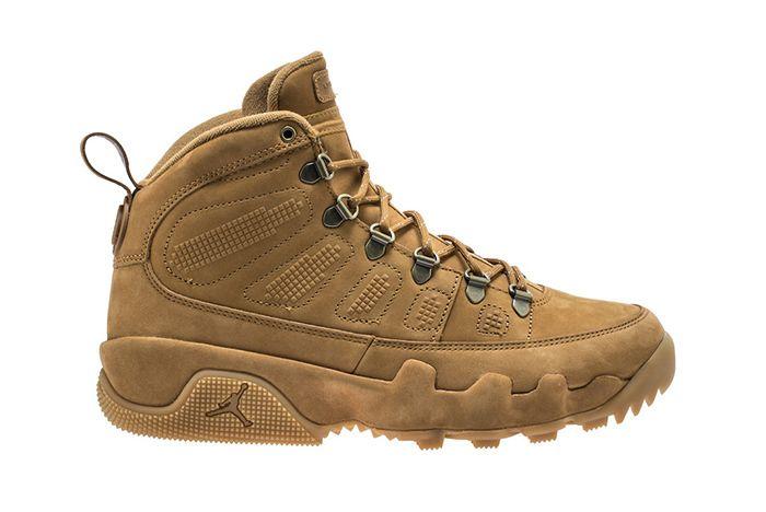 Air Jordan 9 Boot Wheat Black 1