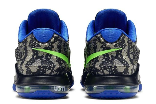 Nike Kd 7 Black Green Blue 11
