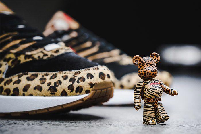 Nike Air Max 1 95 Animal Pack 2 0 Be@ Rbrick Bearbrick 100 400 1
