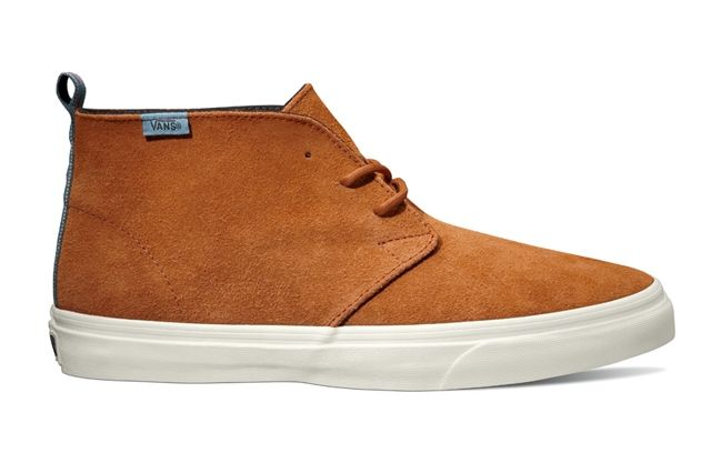 Vans California Collection Chukka Decon Ca Suede Glazed Ginger Holiday 2013