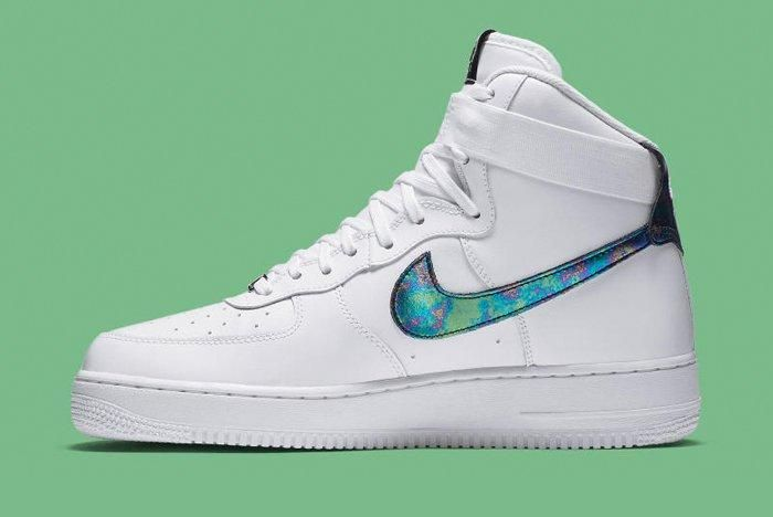 Nike Air Force 1 High Iridescent 5