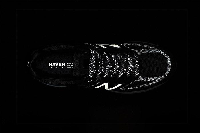 Haven New Balance 990V5 Reflecting