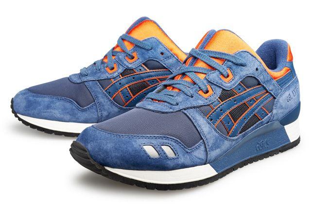 Asics Gel Lyte Blue Orange 1